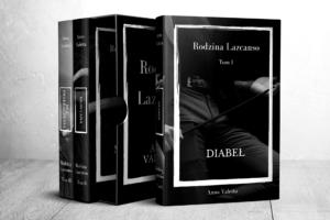 Rodzina Lazcanso Diabel książka