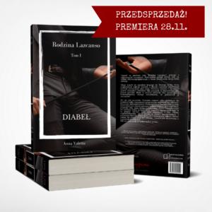"""Anna Valetta """"Diabeł"""" – książka"""