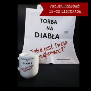 Komplet od Diabła – Torba + Kubek Kawa