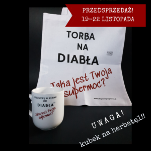 Komplet od Diabła – Torba + Kubek Herbata